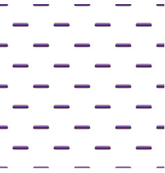 Violet rectangular button pattern vector