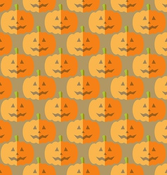 Flat pumpkin vector image