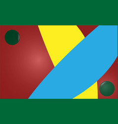 Abstract background yellow blue burgundy green vector