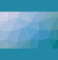 blue light polygonal mosaic background business vector image
