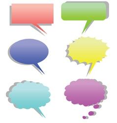 Dialog cartoon vector