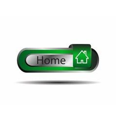 Home icon button vector