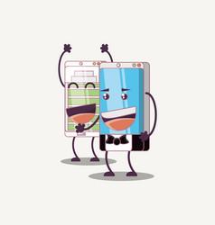 mobile design concept vector image