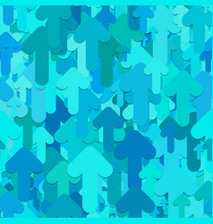 Seamless arrow background pattern - design from vector