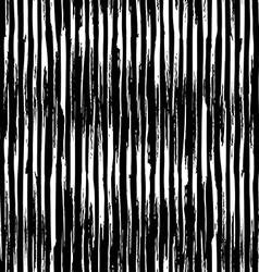 Seamless pattern of vertical chalk brush strokes vector