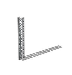 Truss girder isolated on white background vector