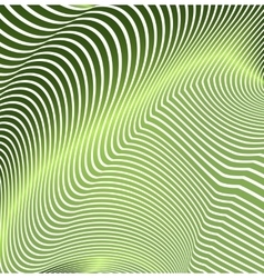 Abstract curved lines in the form of waves Modern vector image