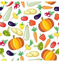 vegetable color pattern vector image