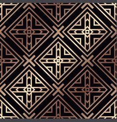 Art deco seamless pattern vector