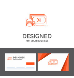 business logo template for finance investment vector image
