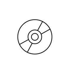 cd drive icon dvd icon cd icon vector image