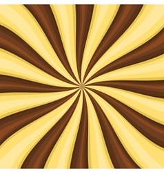Chocolate Lollypop Candy Background with Swirling vector