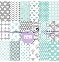 Digital paper - seamless pattern vector image