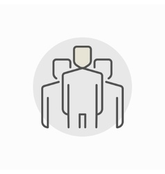 People creative icon vector