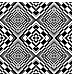 seamless op art pattern vector image