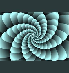 Spirals illuzion vector