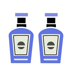 Two bottle vector