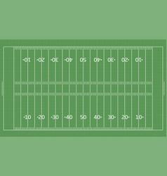 american football green field vector image