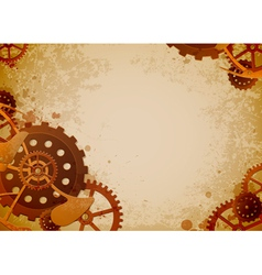 steampunk vector image vector image