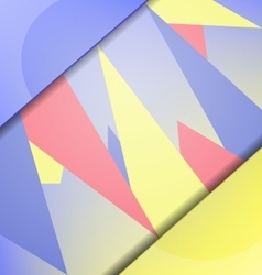 abstract background with elements vector image vector image
