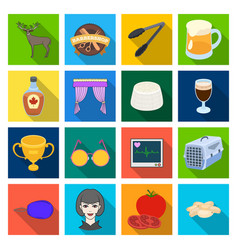 achievement medicine nature and other web icon vector image