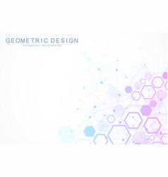 Data technology abstract futuristic vector