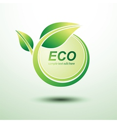 Eco labels2 vector image