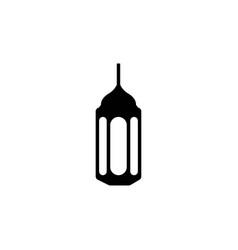 fanoos lantern islam icon design template isolated vector image