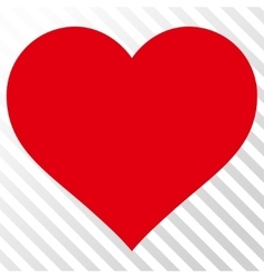 Love Heart Icon vector image vector image