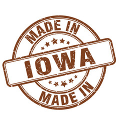 Made in iowa vector