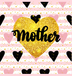 mother postcard design vector image