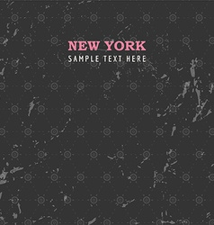 Rustic New York Background vector image