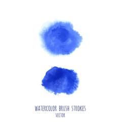 Set navy blue watercolor backgrounds vector