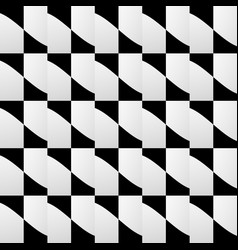 various abstract geometric patterns monochrome vector image