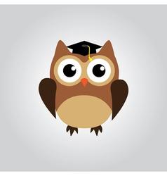 owl grad vector image