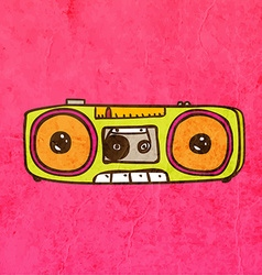 Stereo Cartoon vector image vector image