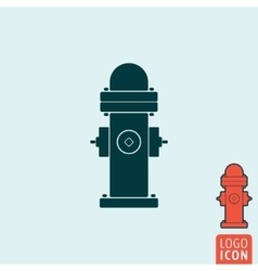 Fire hydrant icon isolated vector