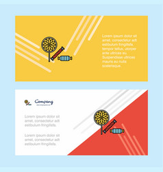 candies abstract corporate business banner vector image