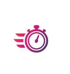 chronometer timer icon vector image