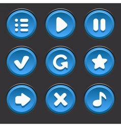 GameUiElements11 vector image