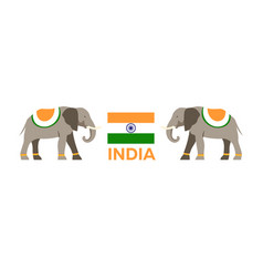 India tourism travelling indian vector