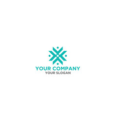 K star logo design vector