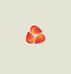 vegetable oil emblem vector image