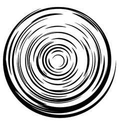 Abstract circle background Radial lines background vector image