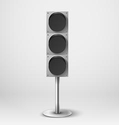 Traffic light Diod traffic light Template vector image vector image