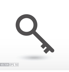 Key - flat icon vector image