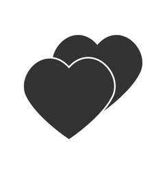 Abstract heart Element for design vector