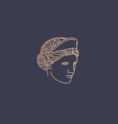 Aphrodite logo vector