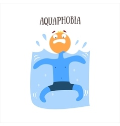 Aquaphobia vector