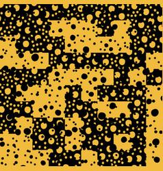 Asymmetrical seamless art camouflage design vector